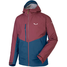Salewa Puez 2 PTX 3L Jacket Men red/blue